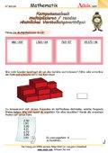 Kompetenzcheck multipizieren/runden/räumliche Vors