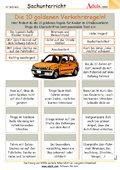Die 10 goldenen Verkehrsregeln!