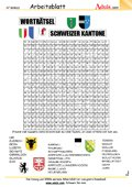 Worträtsel Schweizer Kantone