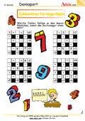 Zahlenrätsel für kluge Köpfe