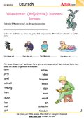 Wiewörter (Adjektive) kennenlernen