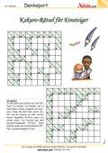 Kakuro-Rätsel für Einsteiger