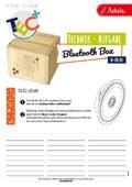 200265 Bluetooth Box aus Zirbenholz Technikaufgabe