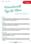 Heimunterricht - Tipps für Eltern