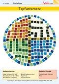 Topfuntersatz aus Mosaik