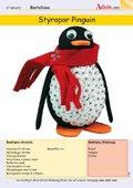 Styropor Pinguin