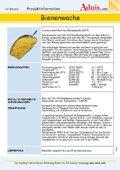 Bienenwachs - Produktinfomationen