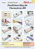 Parallelanschlag für Thermoform 400