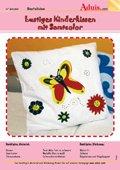 Lustiges Kinderkissen mit Samtcolor