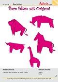 Tiere falten mit Origami