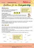 Spielideen für den Kindergeburtstag