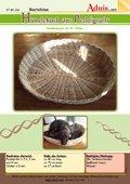 Hundekorb aus Peddigrohr