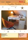 Goldene Schreibtischschublade