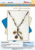 Geknüpfte Halskette mit Naturperlen