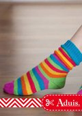 Bunte Kindersocken
