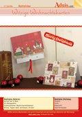 Weihnachtskarte 3D