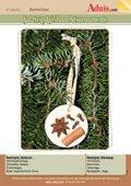 Salzteig Weihnachtsornamente