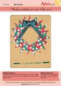 Weihnachtskarte mit Sternen von Fotokarton