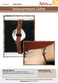 Armband und Kette mit zwischenteil rund