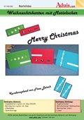 Weihnachtskarte mit Motivlocher