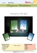 Passepartout-Windlichtkarte