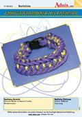 Zahnleiterarmband aus Paracord