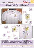 Poloshirt mit Serviettentechnik