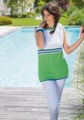 Sommerliches Longshirt