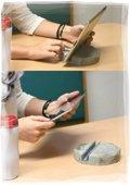 Tablet Halter aus Beton