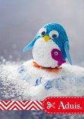 Kleiner Strickliesel Pinguin