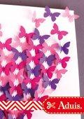 Keilrahmen mit Schmetterlingen