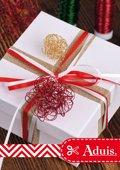 Geschenkanhänger: Drahtkugeln
