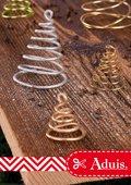 Geschenksanhänger: Bäumchen aus Draht