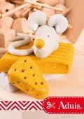Fimo kids - Süße Maus mit Käse