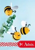 Süße Strickliesel Bienen