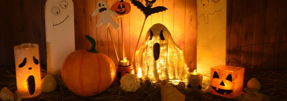 Halloween Gips-Geist