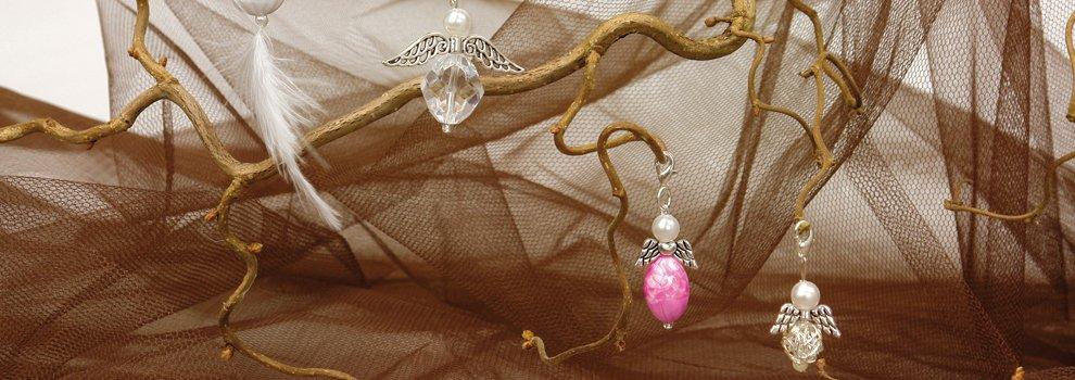 Kleine Perlenengel