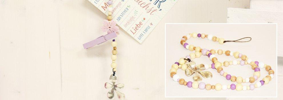 Memo-Perlenkette