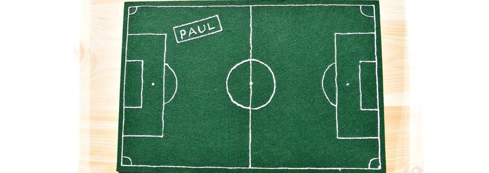 WM Tischset Fußball