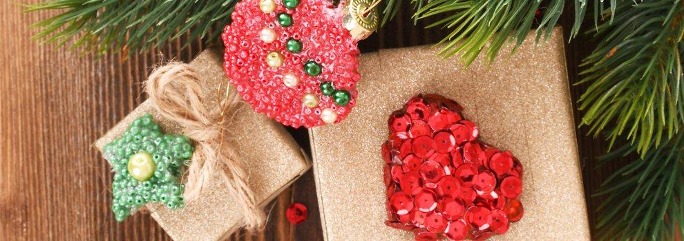 Weihnachtsanchtsanhänger Sticky Base