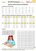 Exercices tables de multiplication