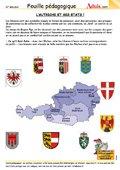L'Autriche et ses états