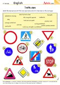 Traffic signs - Mind the cattle!