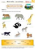 Les animaux du zoo