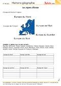 Les régions d'Europe