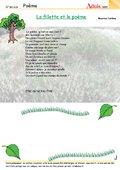 Poème : La fillet et le poème