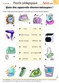 Quizz des appareils ménagers