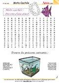 Mots Cachés !: Poissons d'eau douce