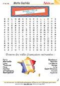 Mots Cachés : Grandes villes de France