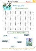 Mots Cachés : Les plantes aquatiques